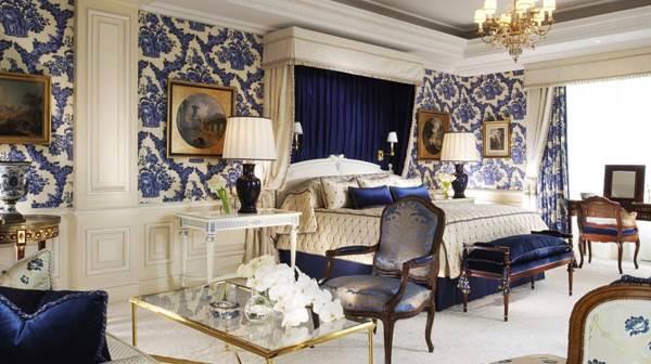 Einzigartig. Das Schlafzimmer der Presidential Suite ist für mich eines der schönsten der Welt.