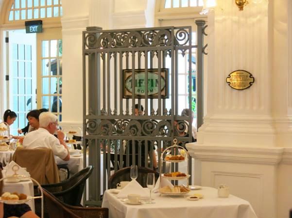 Das Frühstück im Tiffin Room werden Sie lange nicht vergessen.